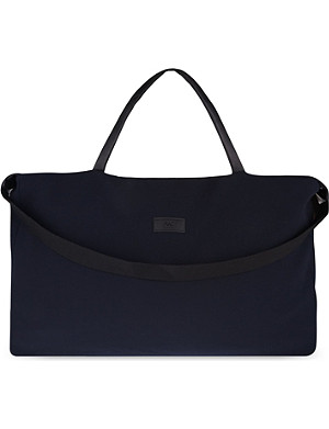 RAD BY RAD HOURANI Crepe & leather travel bag
