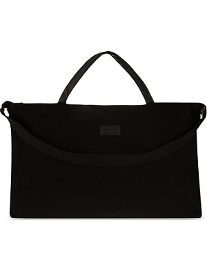 RAD BY RAD HOURANI Unisex wool & leather travel bag