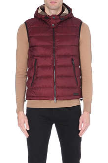BURBERRY BRIT Moores down-filled quilted gilet