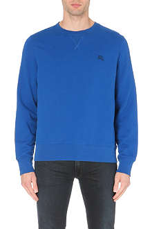 BURBERRY BRIT Claridge cotton-jersey sweatshirt