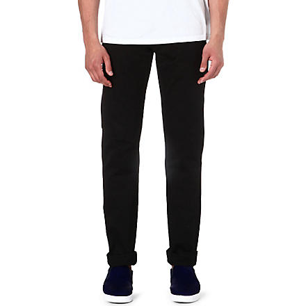 DOCKERS Alpha khaki chinos (Black