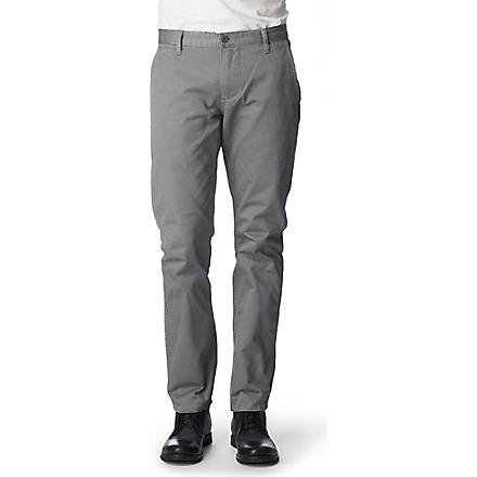 DOCKERS Alpha khaki chinos (Gravel