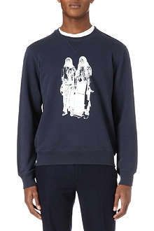 HUNTER GATHER Warrior-print sweatshirt