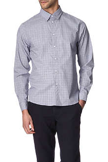 A.P.C. Prince of Wales single cuff shirt