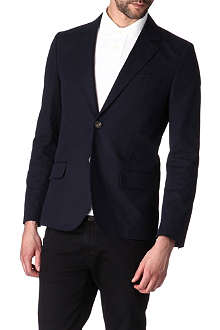 A.P.C. Single-breasted cropped blazer