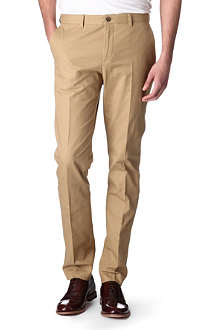 A.P.C. Slim-fit pleated chinos