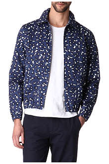 A.P.C. Leopard-print Harrington jacket
