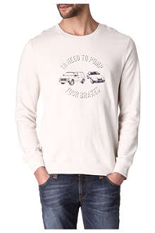A.P.C. Pump Your Brakes sweatshirt