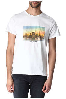A.P.C. New York print t-shirt