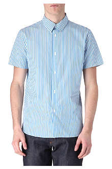 A.P.C. Striped short-sleeved shirt