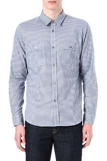 A.P.C. Mini gingham shirt