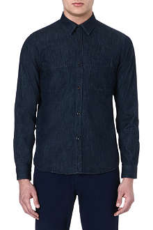A.P.C. Dark denim shirt