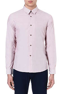 A.P.C. Red stripe Oxford shirt