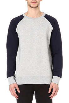 A.P.C. Bi-colour raglan sweatshirt