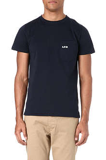 A.P.C. Carhartt pocket t-shirt