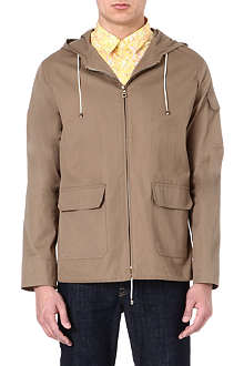 A.P.C. Cotton hooded jacket