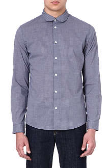 A.P.C. Shirt with rounded collar