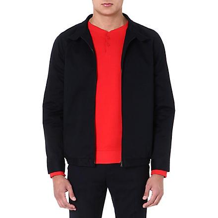 A.P.C. Harrington zip-up jacket (Navy