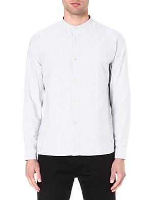 A.P.C. Striped grandad shirt