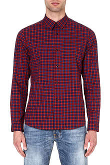 A.P.C. Mike checked shirt