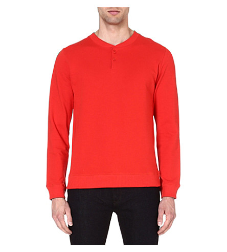 A.P.C. Tunisian sweatshirt (Red
