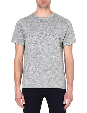 A.P.C. Marl-knit t-shirt