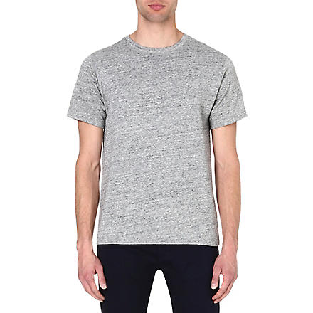 A.P.C. Marl-knit t-shirt (Grey