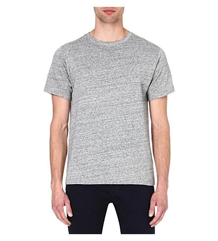 A.P.C. Marl-knit t-shirt (Grey