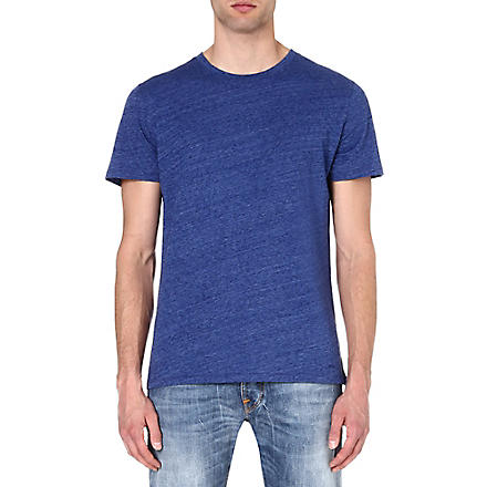 A.P.C. Chambray t-shirt (Blue