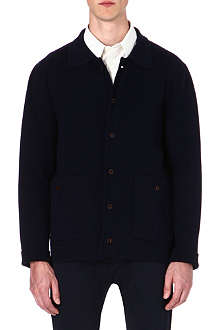 A.P.C. Chunky-knit cotton cardigan