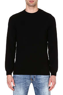 A.P.C. Button-shoulder jumper