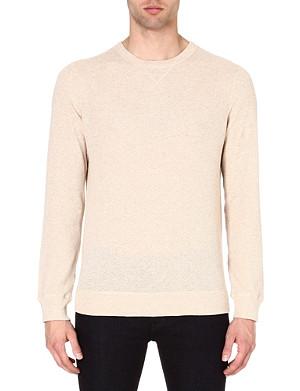 A.P.C. Textured sweatshirt
