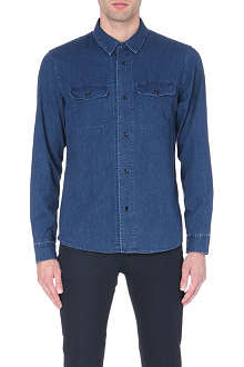A.P.C. Army denim shirt