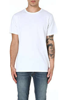 A.P.C. Crew-neck cotton t-shirt
