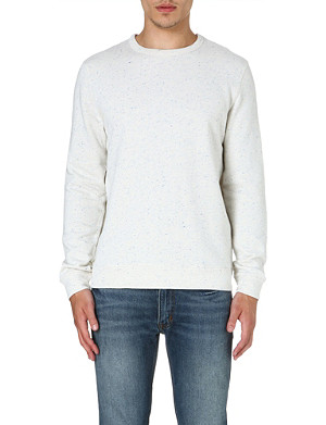 A.P.C. Space-dyed jersey sweatshirt