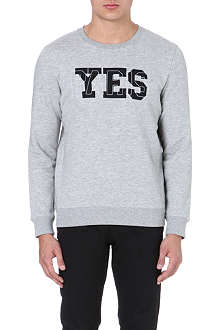 A.P.C. Yes Paris sweatshirt
