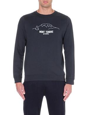 A.P.C. Mont Tendre cotton-jersey sweatshirt