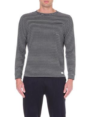 A.P.C. Breton-stripe jersey top