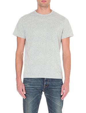 A.P.C. Breton-stripe jersey t-shirt