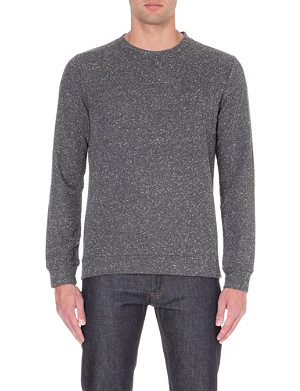 A.P.C. Flecked jersey sweatshirt