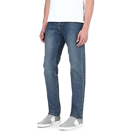 A.P.C. Petit New Standard slim-fit tapered jeans (Indigo