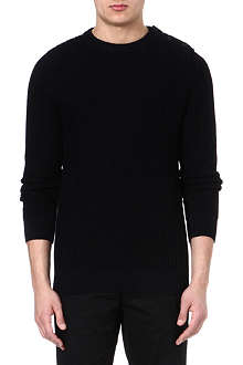 A.P.C. Marine knitted jumper