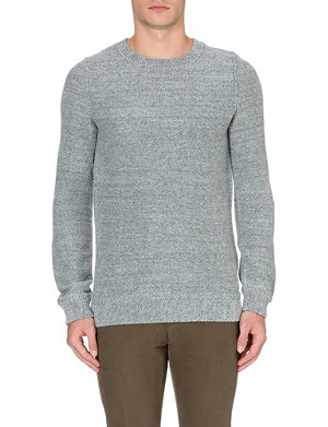 A.P.C. Basic wool-blend sweater