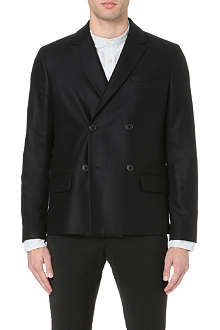 A.P.C. Double-breasted wool jacket