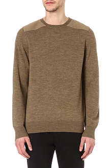 A.P.C. Army knitted jumper