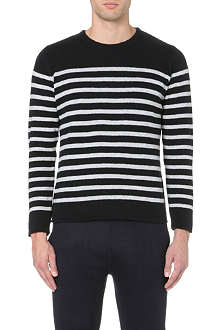 A.P.C. Striped wool jumper