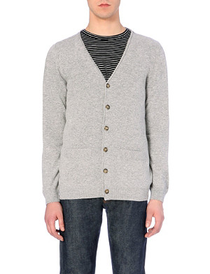 A.P.C. Wool and cashmere-blend cardigan