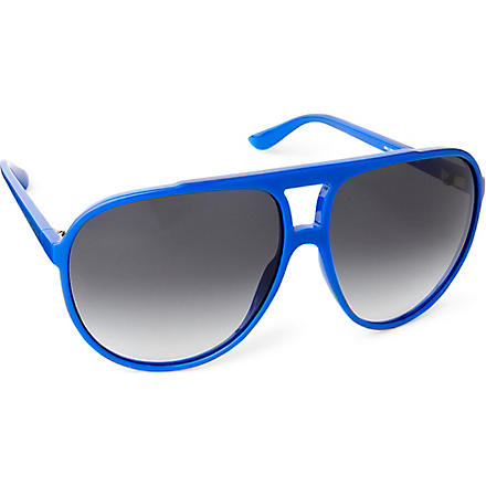 MARC BY MARC JACOBS Aviator sunglasses (Blue