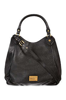 MARC BY MARC JACOBS Classic Q Francesca leather hobo