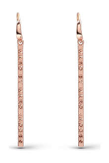 MARC BY MARC JACOBS Letter press earrings